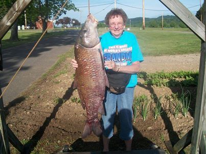 Grandmother hauls in a 31 pounder