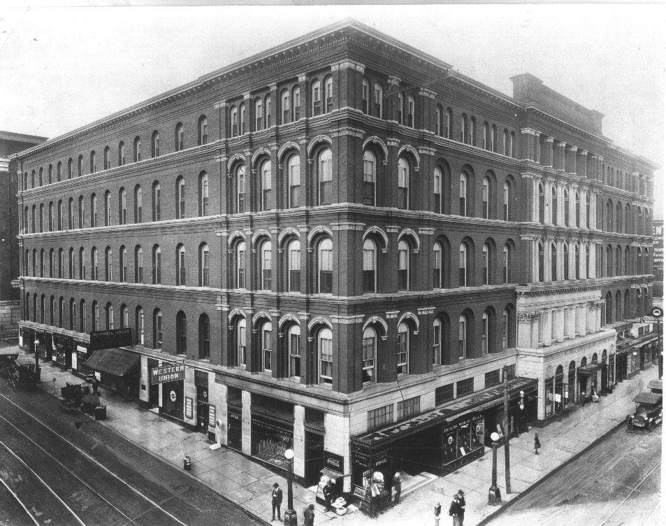 Nashville's Maxwell House Hotel 1925