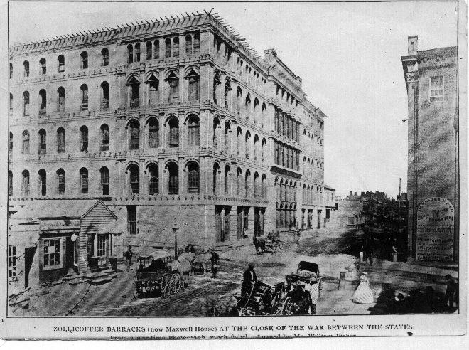 Zolicor Baracks In Nashville Following The Civil War (1)