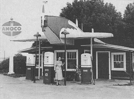Paris, TN Airplane Filling Station From The Paris Post-Intelligencer Files