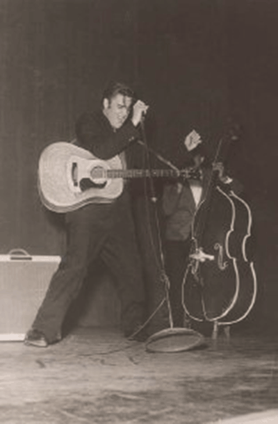 Elvis playing at the Grand Ole Opry - Ryman