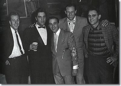 Elvis backstage at the Ryman 12/22/57