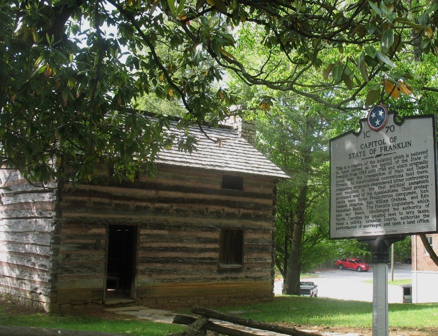 Before Tennessee there was the State Of Franklin an independent nation
