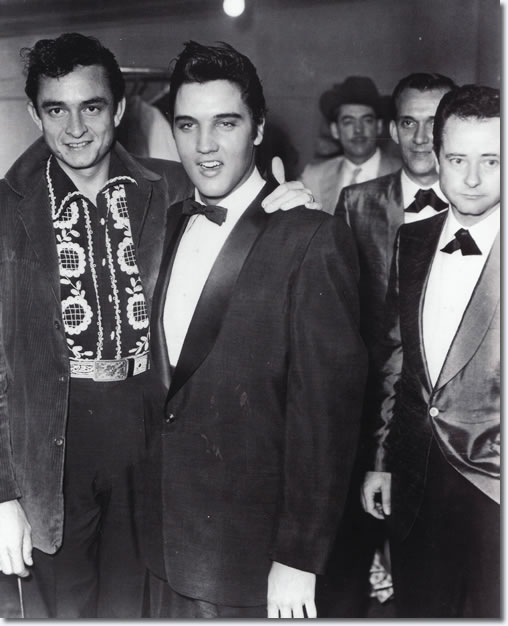 Elvis played the Opry only once and was told by the Opry after the show he'd be better off driving a truck
