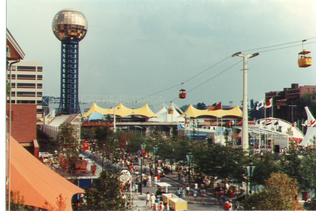Knoxville World's Fair, expected to make $5 million only made $57