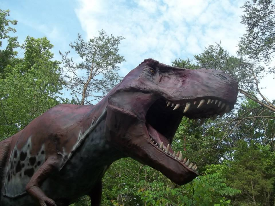 Ever wanted to go to Jurassic Park, check out Dinosaur Park, includes a full size T-Rex