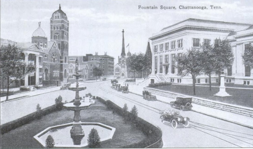 Fountain Square 1912