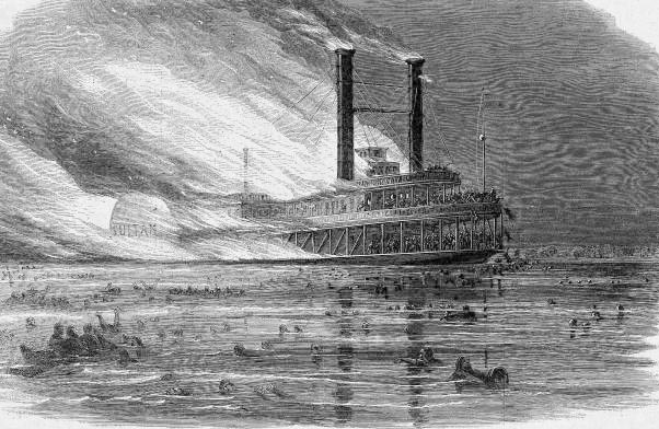 Largest maritime disaster in the US happened just north of Memphis, worse than the sinking of the Titanic