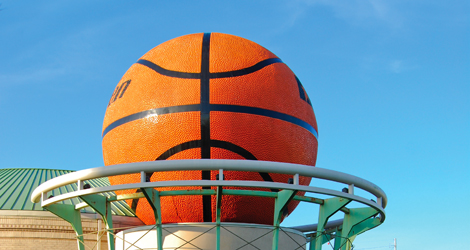Tennessee is home to the World's Largest Basketball and yes it is in Knoxville